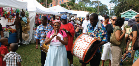Tuk Band Performing at Holetown Festival, Barbados Pocket Guide