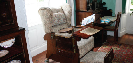 Antique Furniture at a Plantation Home, Barbados Pocket Guide