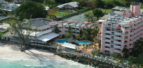 Aerial View Of Barbados Beach Club Maxwell Coast Road Christ Church Pocket