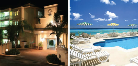 Coral Mist Beach Hotel, Worthing, Christ Church, Barbados Pocket Guide