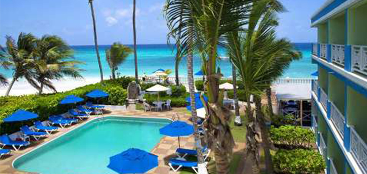 Dover Beach Hotel, St. Lawrence, Christ Church, Barbados Pocket Guide