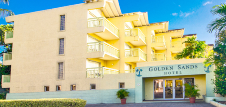 Golden Sands Apartment Hotel, Maxwell, Christ Church, Barbados Pocket Guide