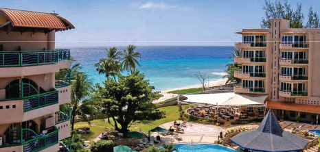 View Of Accra Beach Hotel Rockley Christ Church Barbados Pocket Guide
