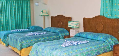 Deluxe Room, Time Out, St. Lawrence Gap, Christ Church, Barbados Pocket Guide