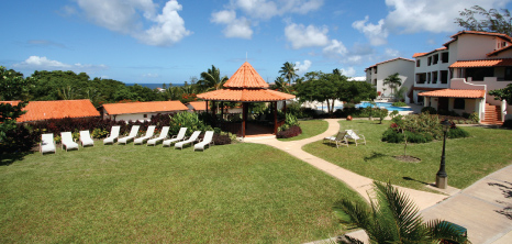 A Panoramic View of Sugar Cane Club Hotel & Spa, St. Peter, Barbados Pocket Guide
