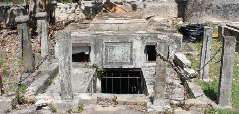 Chase Vault in the Graveyard at Christ Church Parish Church, Barbados Pocket Guide