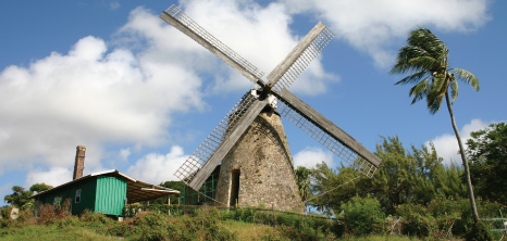 Morgan Lewis Windmill, Morgan Lewis, St. Andrew, Barbados Pocket Guide
