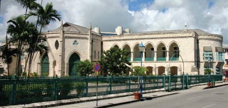 Parliament Buildings, Bridgetown, St. Michael, Barbados Pocket Guide