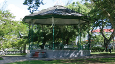 Gazebo at Queen's Park, Bridgetown, St. Michael, Barbados Pocket Guide