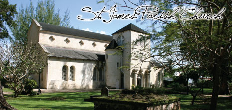 St. James Parish Church, Holetown, St. James, Bbarbados Pocket Guide