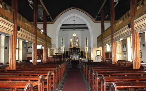 The Interior of St. John's Parish Church, Barbados Pocket Guide