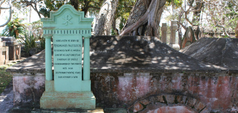 Ferdinando Paleologus' Tomb Located at the Historic St. John's Parish, Barbados Pocket Guide