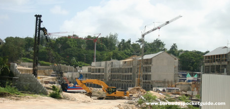Construction Work Being Carried out at Port Ferdinand, St. Peter, Barbados Pocket Guide