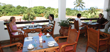 Patrons Chatting With Each Other While Awaiting Their Meal, La Salsa Restaurant, Sugar Cane Club Hotel & Spa, Maynards, St. Peter, , Barbados Pocket Guide