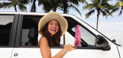 Visitor Getting Ready to Explore the Island in Her Hired Car, Barbados Pocket Guide