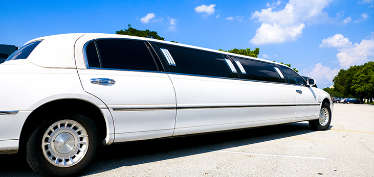 Limousine Awaiting Guests, Barbados Pocket Guide