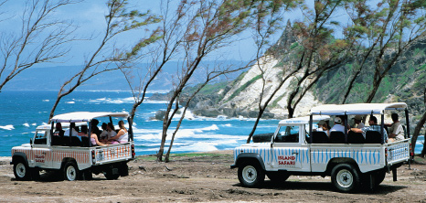 Island Safari Jeeps on Tour at East Coast, St. Andrew, Barbados Pocket Guide