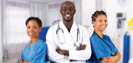 Medical Team of Three Doctors, Barbados Pocket Guide