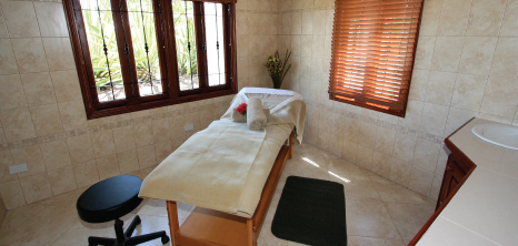 Spa Room at Sugar Cane Club Hotel and Spa, Maynards, St. Peter, Barbados Pocket Guide