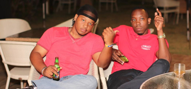 Buddies Just Chilllin at the After Work Lime at Savannah Beach Hotel
