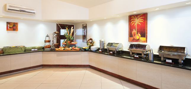 Buffet at Savannah Beach Hotel, Barbados