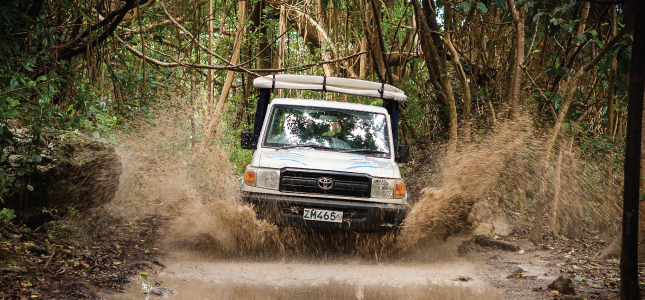 The Ultimate Off Road Experience with Island Safari