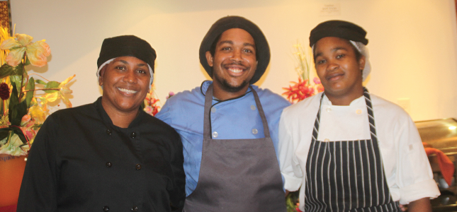 Chefs at Savannah Beach Hotel, Barbados