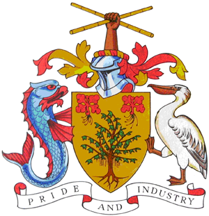 coat of arms barbados 2
