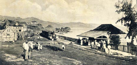 Barbados Railway, Bathsheba, St. Joseph, Barbados Pocket Guide