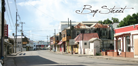 Old Buildings on Bay Street, Barbados Pocket Guide