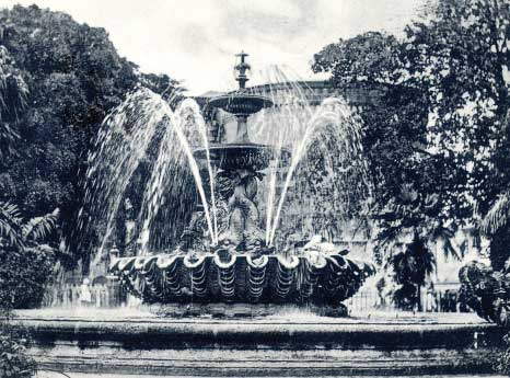 Fountain Gardens When Once Operational in Bridgetown, Barbados Pocket Guide