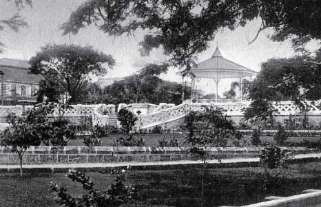 Queen's Park, Showing Esplanade, Many Years Ago, Barbados Pocket Guide