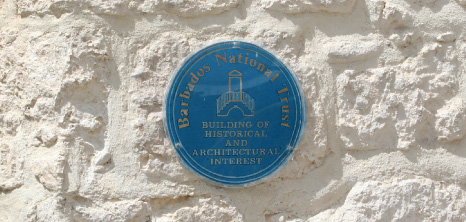 Barbados National Trust's Plaque, Barbados Pocket Guide