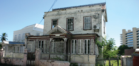 Old Chattel House on Crumpton Street, Bridgetown, Barbados Pocket Guide