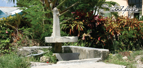 Standpipe in a Village in St. Lucy, Barbados Pocket Guide