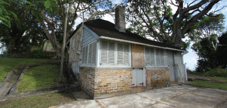 Cookhouse at Gun Hill Signal Station, St. George, Barbados Pocket Guide