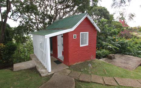 Red House on the Lawns of Gun Hill Signal Station, St. George, Barbados Pocket Guide