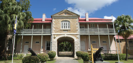 Barbados Museum & Historical Society, Garrison Savannah, St. Michael, Barbados Pocket Guide