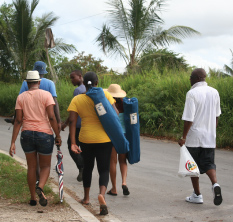 Rally Fans Heading Over to Another Stage, Barbados Pocket Guide