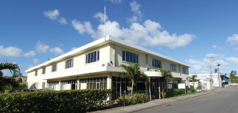 The Offices of the Barbados Tourism Authority, Bridgetown, Barbados Pocket Guide