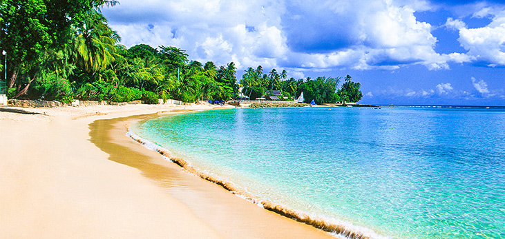 Peaceful Beach at River Bay, St. Lucy, Barbados Pocket Guide