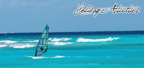 Windsurfing on the South Coast, Barbados Pocket Guide