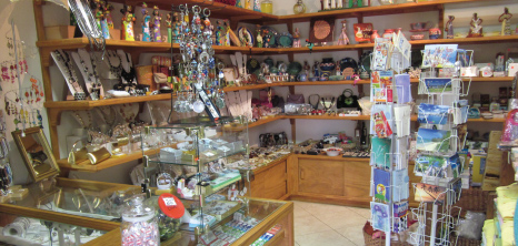 Souvenir Shop at Sugar Cane Club Hotel & Spa, Barbados Pocket Guide