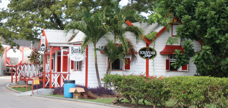 Souvenir Shop at Banks Breweries, Wildey, St. Michael, Barbados Pocket Guide
