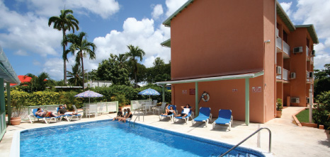 Worthing Court Apartment Hotel, Christ Church, Barbados Pocket Guide