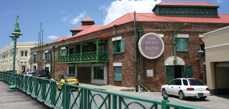 Spirit Bond Building, Wharf Road, Bridgetown, Barbados Pocket Guide