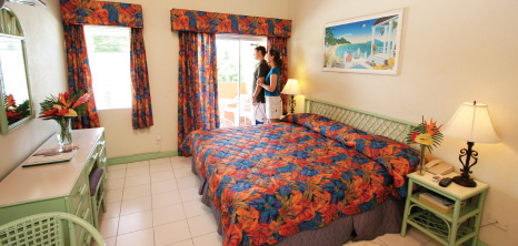 Room at Worthing Court Apartment Hotel, Christ Church, Barbados Pocket Guide