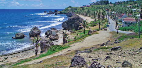 Picturesque View of Bathsheba, St. Joseph, Barbados Pocket Guide