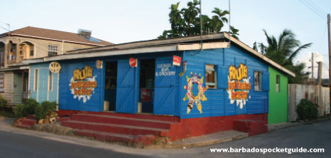 Rum Shop on a Corner Street, Barbados Pocket Guide