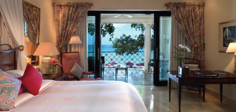 A Room Overlooks the Ocean at Sandy Lane Hotel, St. James, Barbados Pocket Guide